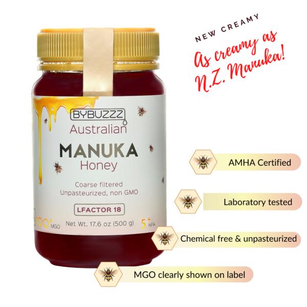 Creamy Manuka Jumbo jar